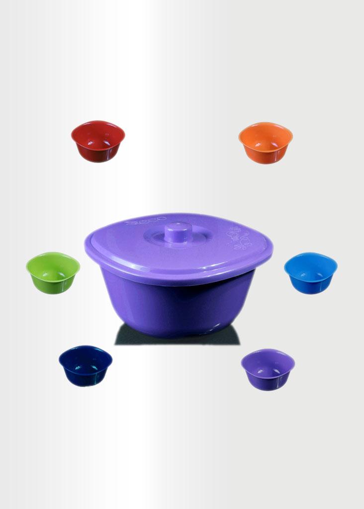 Bowl Rainbow Set Violet