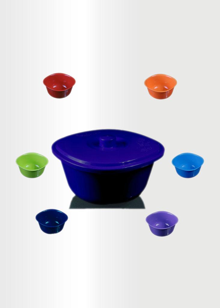 Bowl Rainbow Set Navy Blue