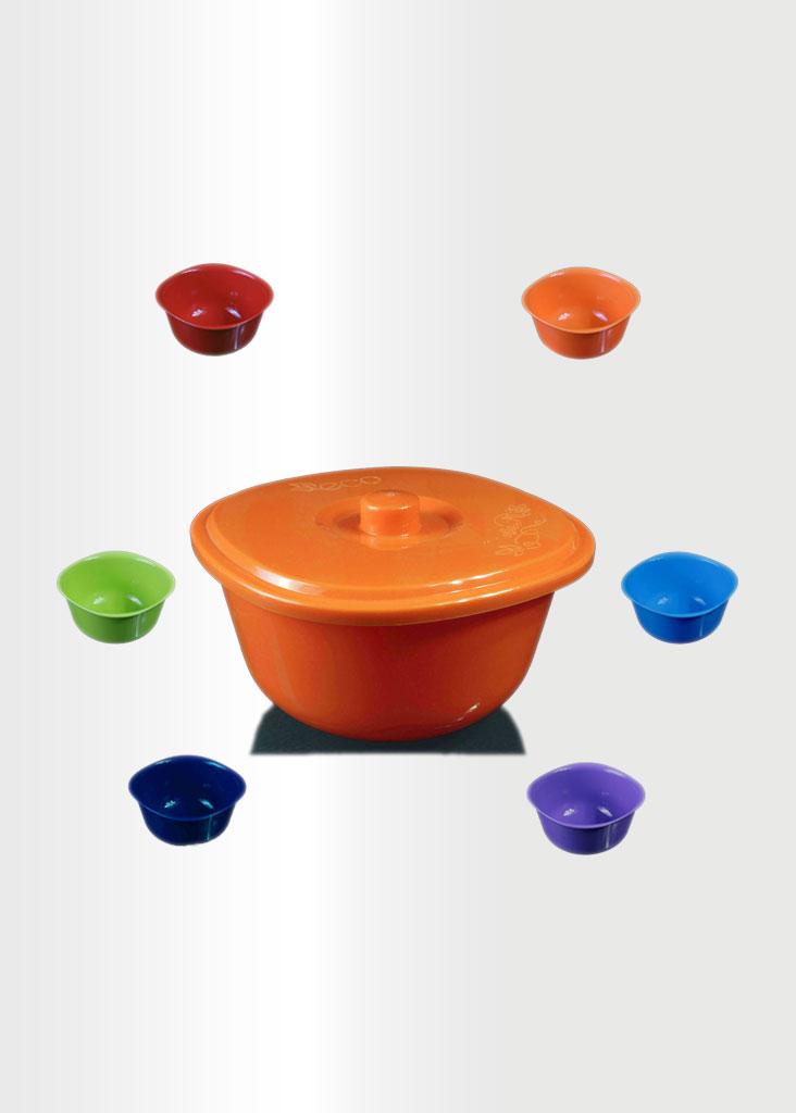 Bowl Rainbow Set Orange