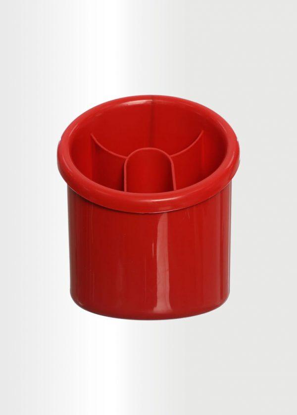 منظم وصفاية ادوات المائدة احمر