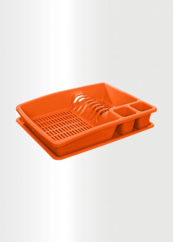 Dish Drainer Tray Orange