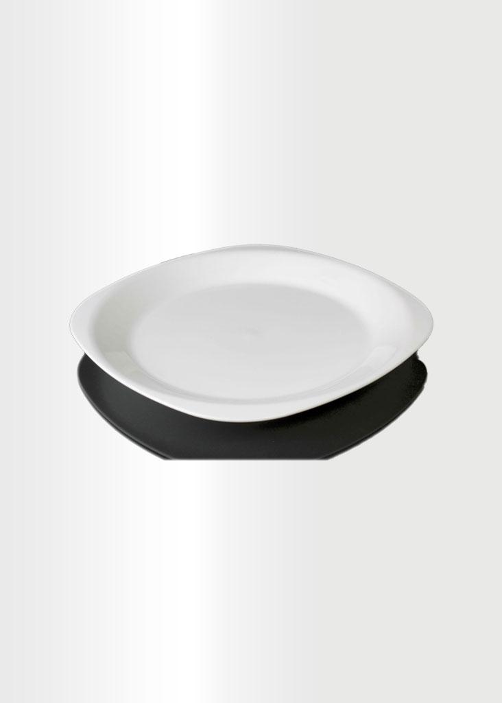 Flat Plate Small White