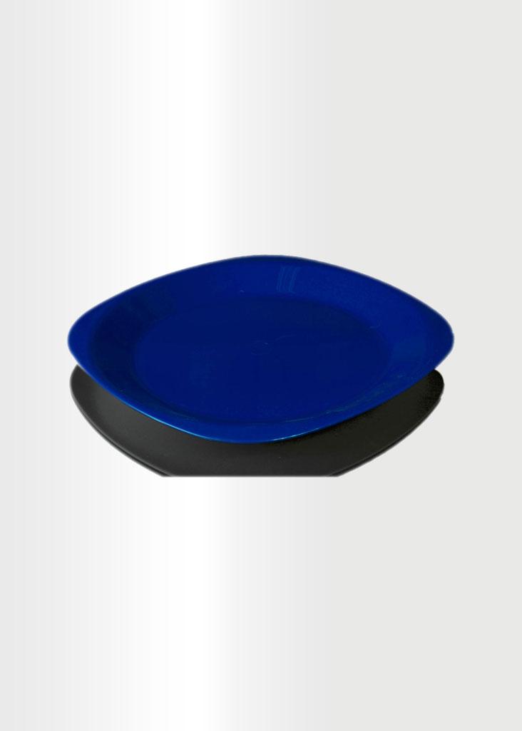 Flat Plate Small Blue