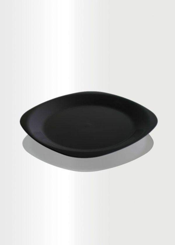 Flat Plate Medium Black