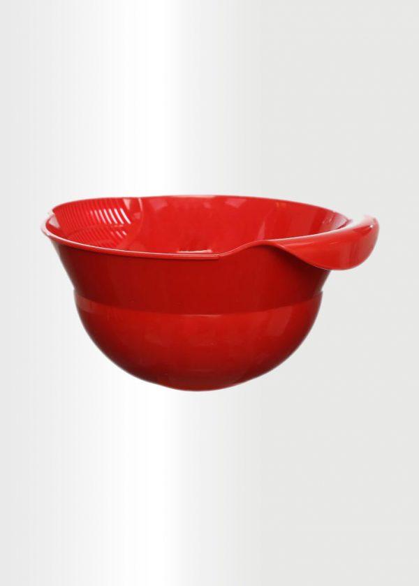 Rice Colander Red