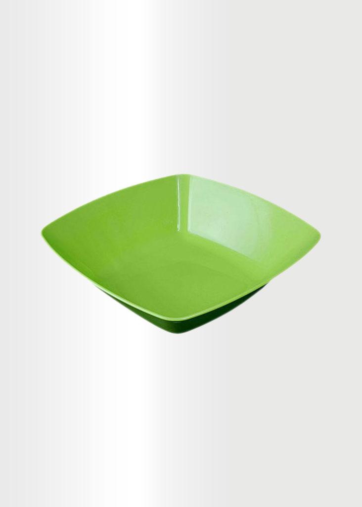 Square Bowl Large Green