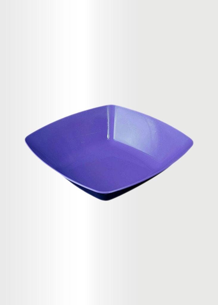 Square Bowl Large Violet