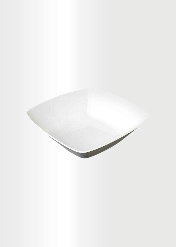 Square Bowl Small White