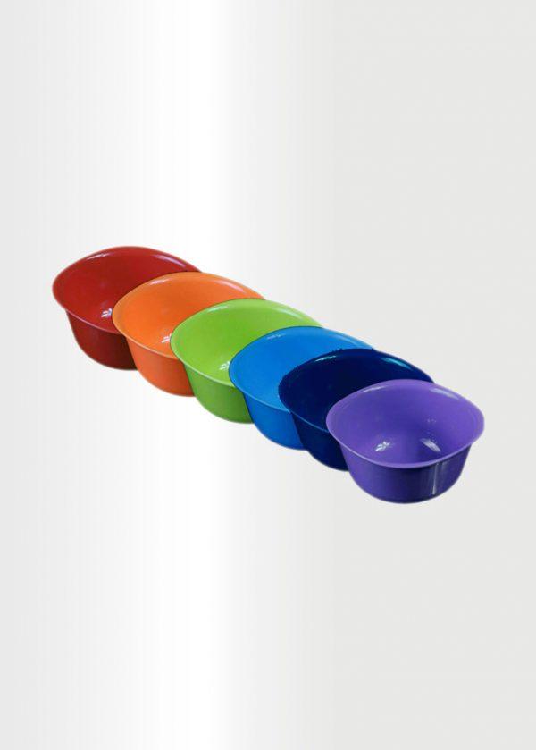 Bowl Medium Rainbow Set