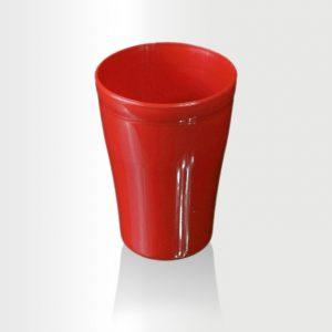 كوب صغير 300 مل احمر