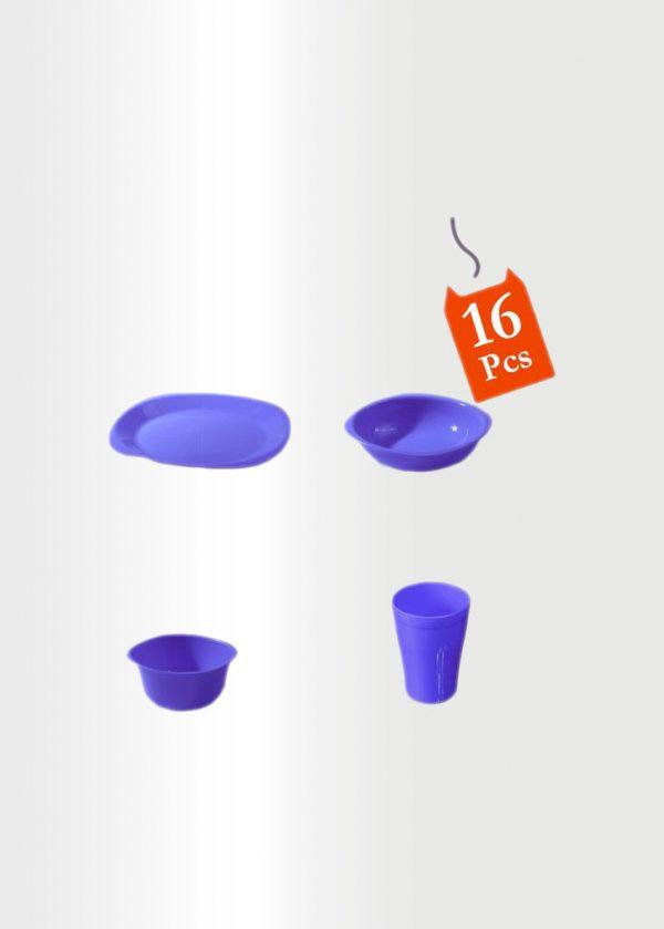 Dinnerware Set 16 Pcs Violet