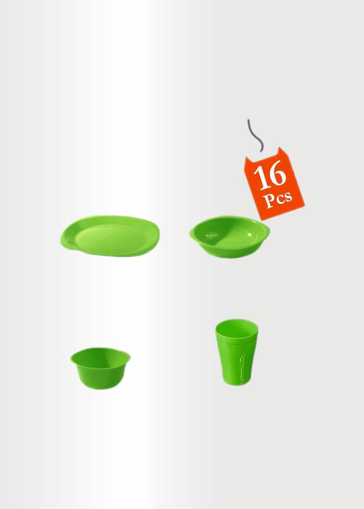 Dinnerware Set 16 Pcs Lime