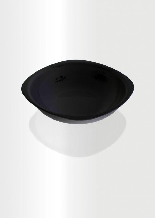 Deep Plate Large Black