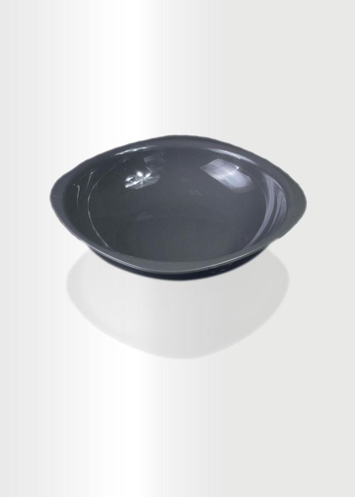 Deep Plate Large Grey