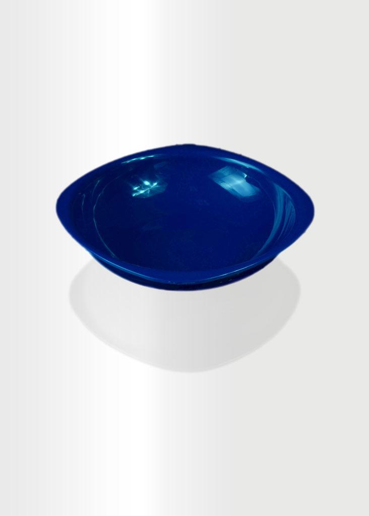 Deep Plate Large Navy Blue