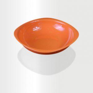 طبق غرف كبير برتقالي