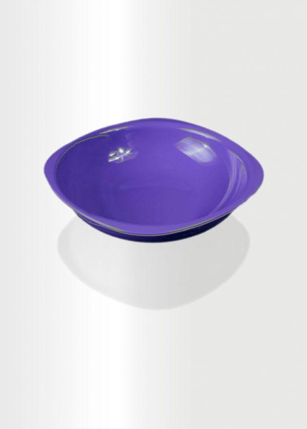 Deep Plate Large Violet