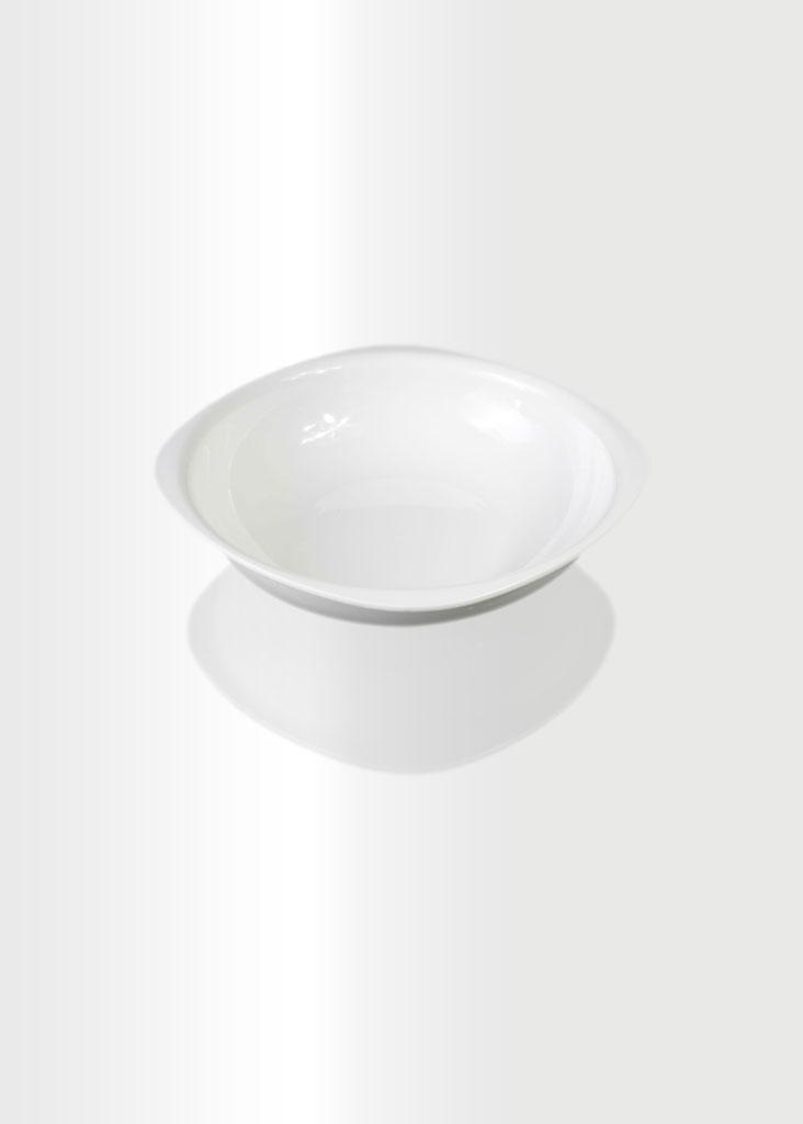 Deep Plate Medium Ivory