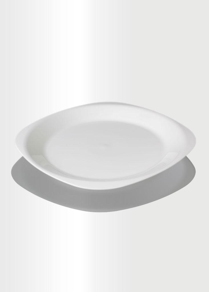 Flat Plate Large Ivory