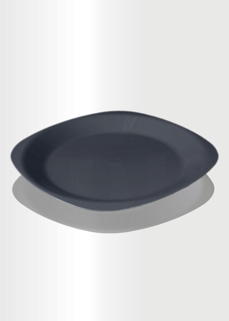 Flat Plate Large Grey