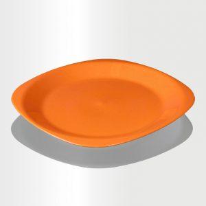 طبق مسطح كبير برتقالي