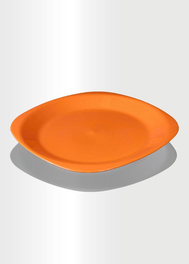 Flat Plate Large Orange