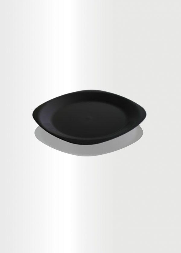 Flat Plate Small Black