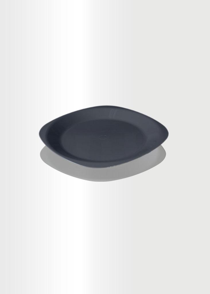 Flat Plate Small Grey
