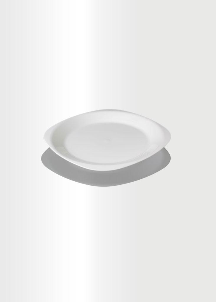 Flat Plate Small Ivory