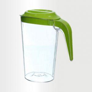 ابريق شفاف 2 لتر اخضر بستاج