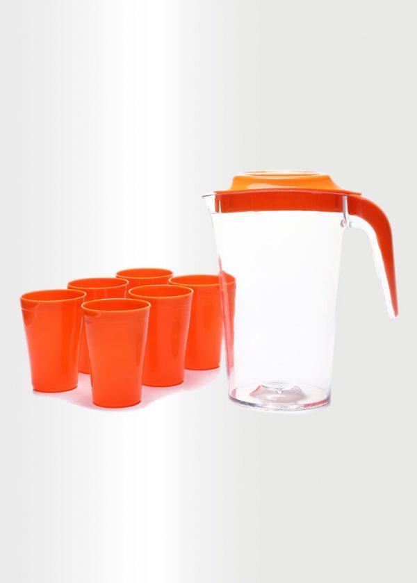 Jug Orange Set