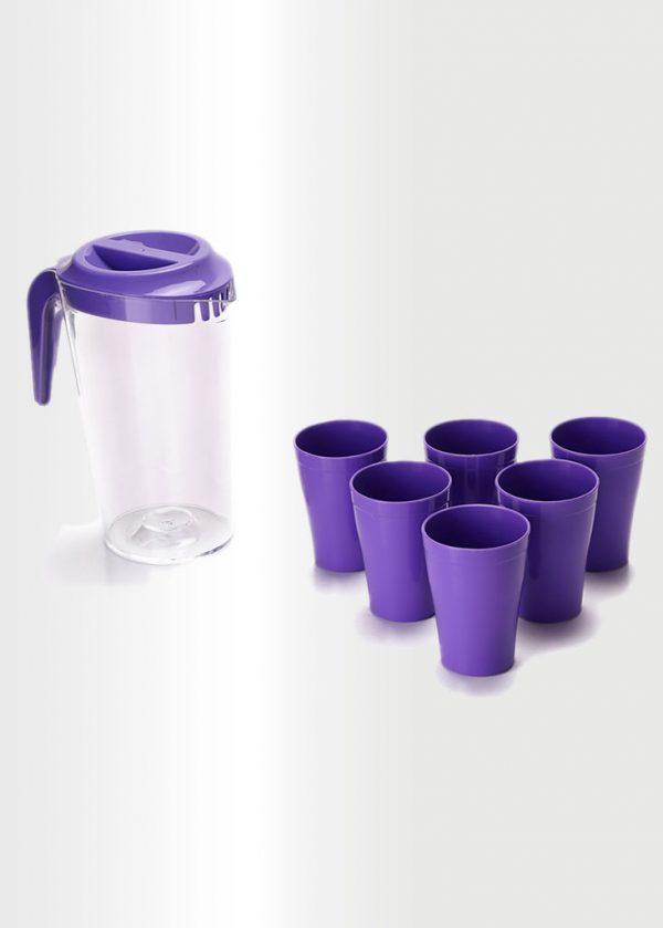 Jug Violet Set