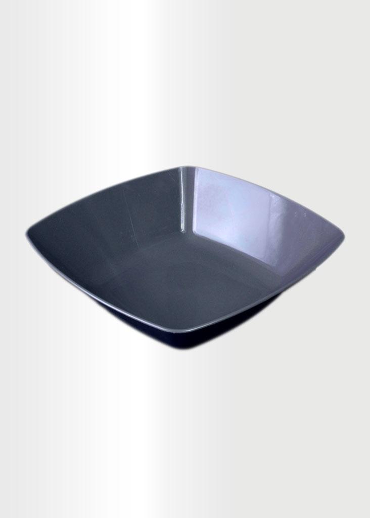 Square Bowl Large Grey