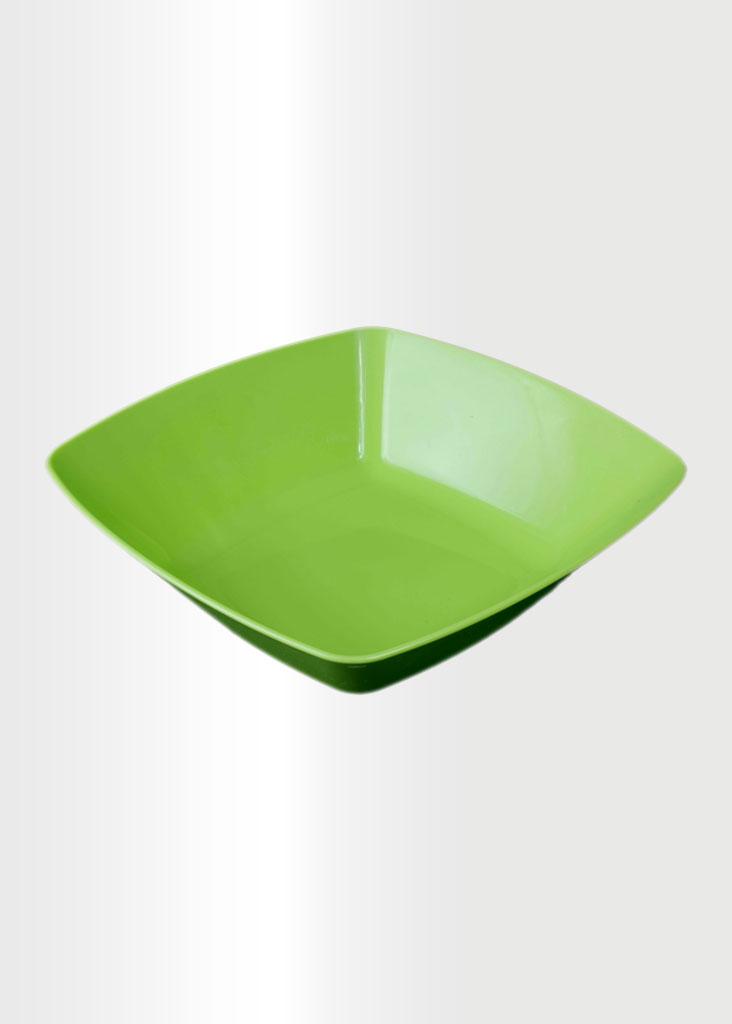 Square Bowl Large Lime