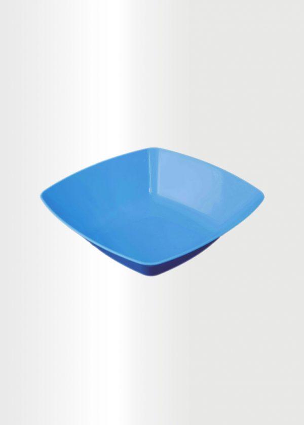 Square Bowl Medium Azure