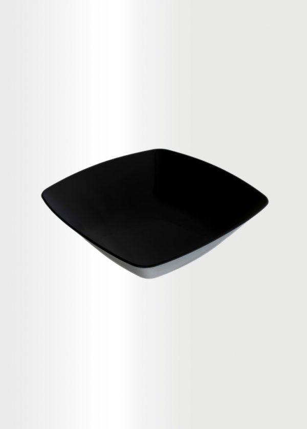 Square Bowl Medium Black