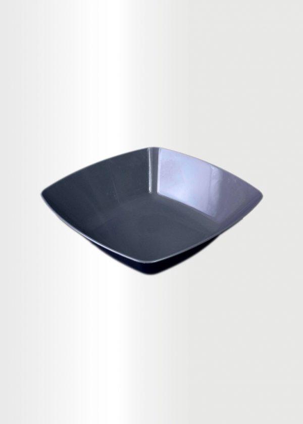 Square Bowl Medium Grey