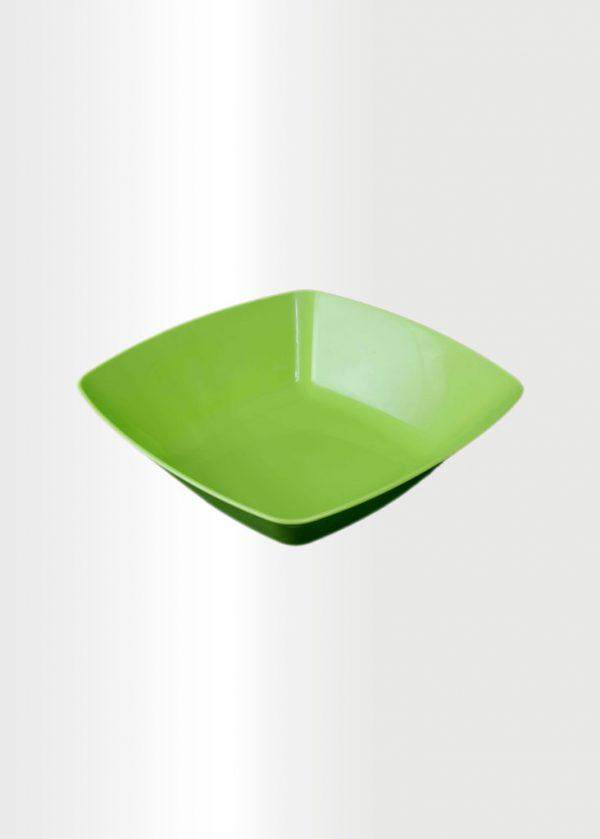 Square Bowl Medium Lime