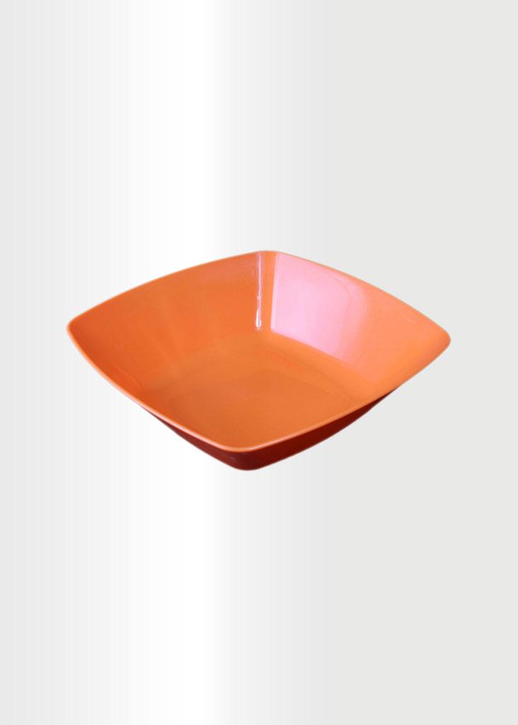 Square Bowl Medium Orange
