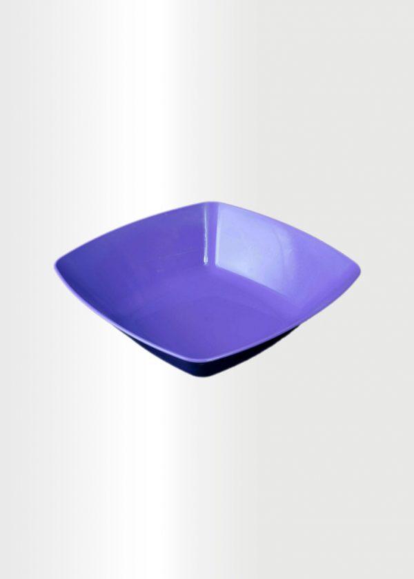 Square Bowl Medium Violet