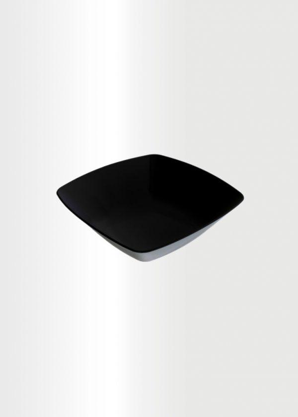 Square Bowl Small Black