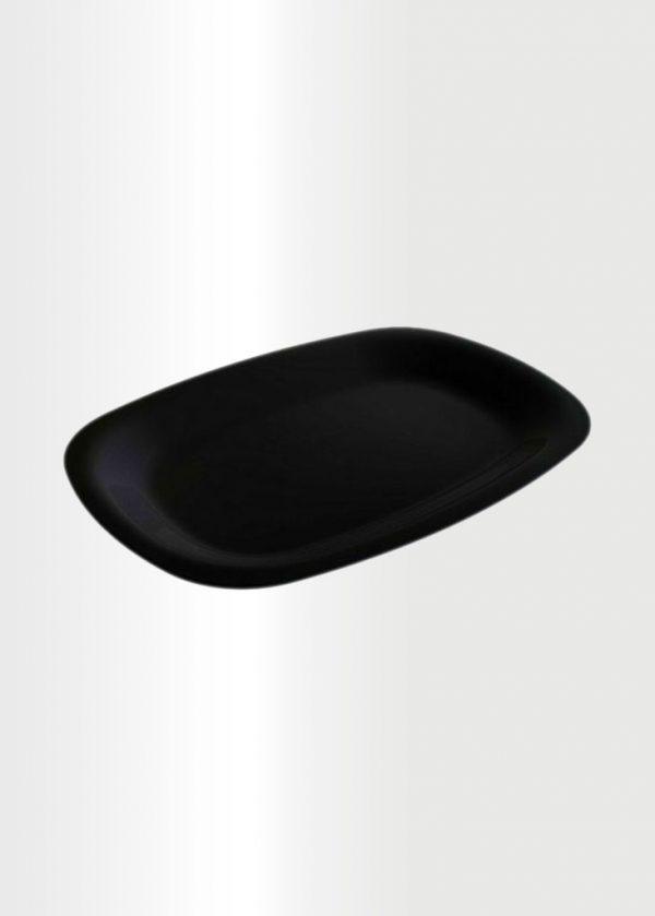 Serving Platter Black