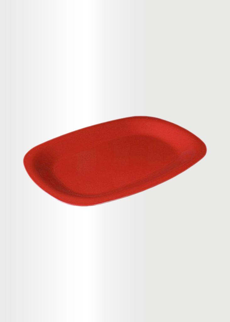 Serving Platter Red